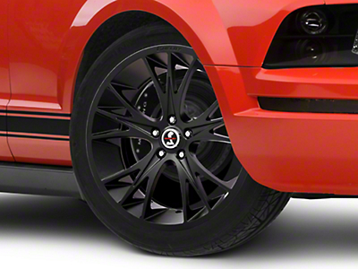 Shelby CS1 Matte Black Wheel - 20x9 (05-14 All)