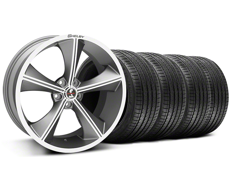 Shelby CS70 Gunmetal Wheel & Sumitomo Tire Kit - 20x9 (05-14 All)