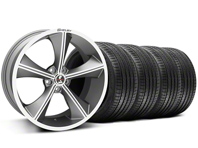 Shelby CS70 Gunmetal Wheel & Sumitomo Tire Kit - 20x9 (05-14 All)