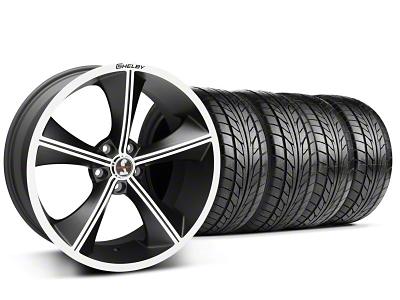 Shelby CS70 Matte Black Wheel & NITTO Tire Kit - 20x9 (05-14 All)