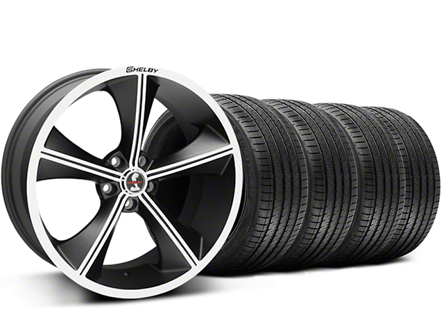 Shelby CS70 Matte Black Wheel & Sumitomo Tire Kit - 20x9 (05-14 All)