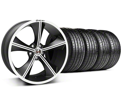 Shelby Staggered CS70 Matte Black Wheel & Sumitomo Tire Kit - 20x9/10 (05-14 All)