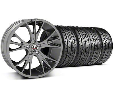 Shelby CS1 Gunmetal Wheel & NITTO Tire Kit - 20x9 (05-14 All)