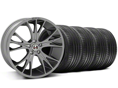 Shelby CS1 Gunmetal Wheel & Sumitomo Tire Kit - 20x9 (05-14 All)