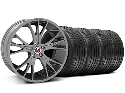 Gunmetal Shelby CS1 Wheel & Sumitomo Tire Kit - 20x9 (05-14 All)