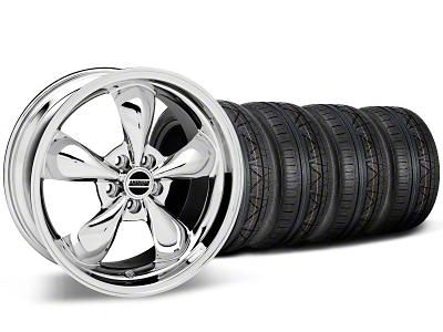 Bullitt Chrome Wheel & NITTO INVO Tire Kit - 19x8.5 (05-14 GT, V6)