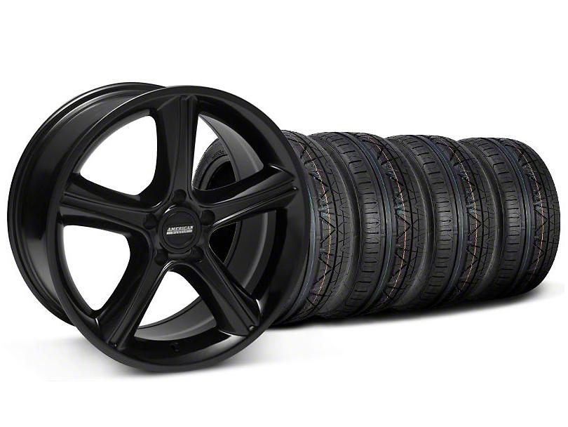 2010 GT Premium Style Black Wheel & NITTO INVO Tire Kit - 19x8.5 (05-14 All)