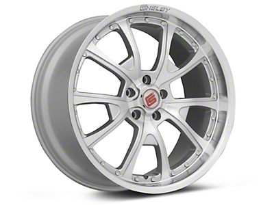 Silver Machined Shelby CS40 Wheel - 20x10 (05-14 All)