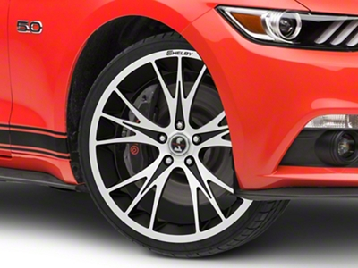 Shelby CS1 Black Machined Wheel - 20x9 (15-16 All)