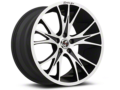 Black Machined Shelby CS1 Wheel - 20x11 (05-14 All)