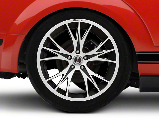 Shelby CS1 Black Machined Wheel - 20x11 (05-14 All)