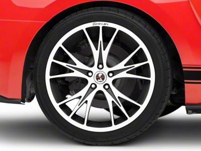 Shelby CS1 Black Machined Wheel - 20x11 (15-16 All)