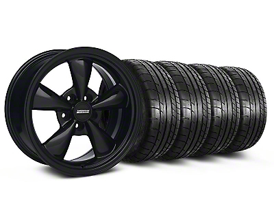 Bullitt Solid Black Wheel & Mickey Thompson Tire Kit - 17x8 (05-14 V6; 05-10 GT)