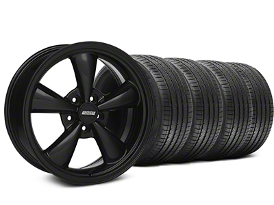 Bullitt Solid Black Wheel & Sumitomo Tire Kit - 18x8 (05-14 GT, V6)