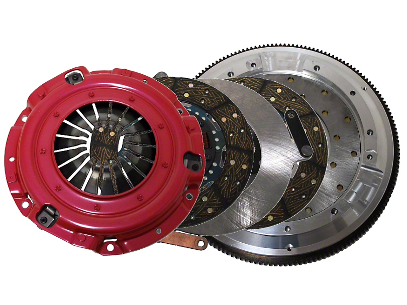 RAM Street Dual Disc Force 9.5 Clutch w/ Flywheel - 23 Spline - 8-Bolt (11-17 GT, BOSS)