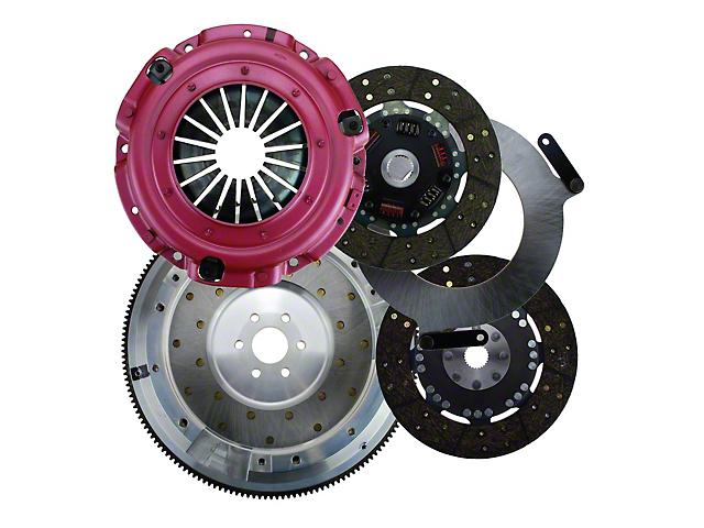 RAM Street Dual Disc Force 9.5 Clutch w/ Flywheel - 26 Spline - 6-Bolt (96-04 4.6L)
