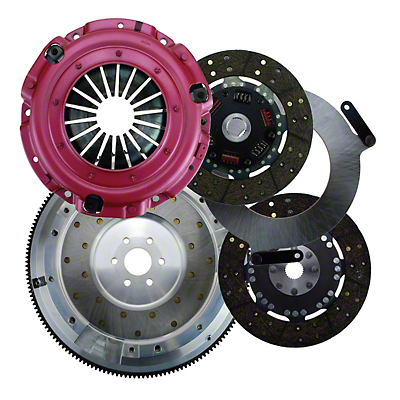 RAM Street Dual Disc Force 9.5 Clutch w/ Flywheel - 26 Spline - 6-Bolt (96-04 4.6L)