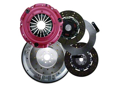 RAM Street Dual Disc Force 9.5 Clutch w/ Flywheel - 26 Spline - 8-Bolt (96-10 4.6L & 5.4L)