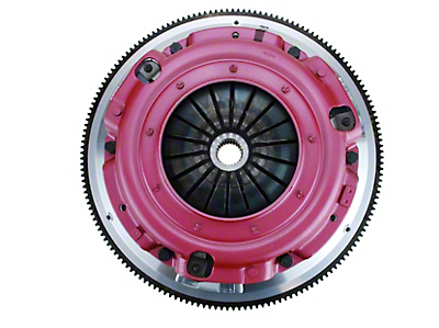 RAM Street Dual Disc Force 9.5 Clutch w/ Flywheel - 10 Spline - 6-Bolt (86-95 5.0L)