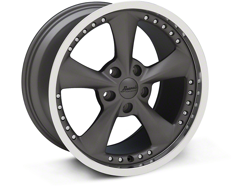 Konig Bravado Americana II Graphite Wheel - 18x10 (05-14 GT, V6)
