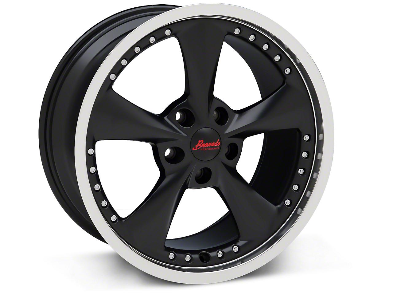 Konig Bravado Americana II Matte Black Wheel - 18x9 (05-14 GT, V6)