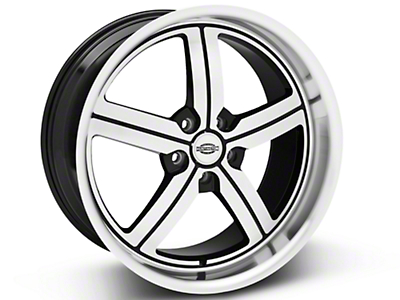 Machined Huntington Bolsa Wheel - 20x10 (05-14 All, Excluding GT500)