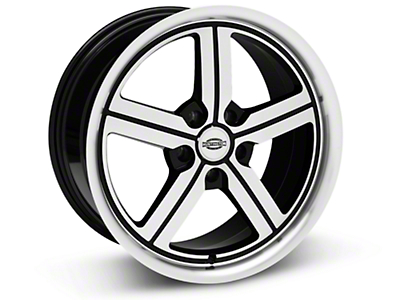 Machined Huntington Bolsa Wheel - 18x9 (05-14 All, Excluding GT500)