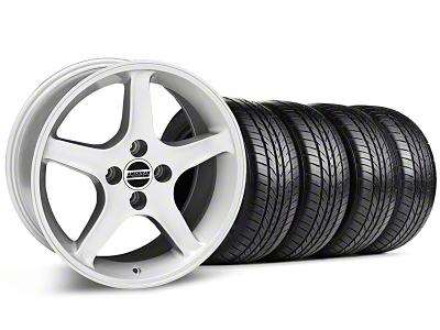 1995 Cobra R Style Silver Wheel & Sumitomo All Season Tire Kit - 17x8 (87-93; Excludes 93 Cobra)