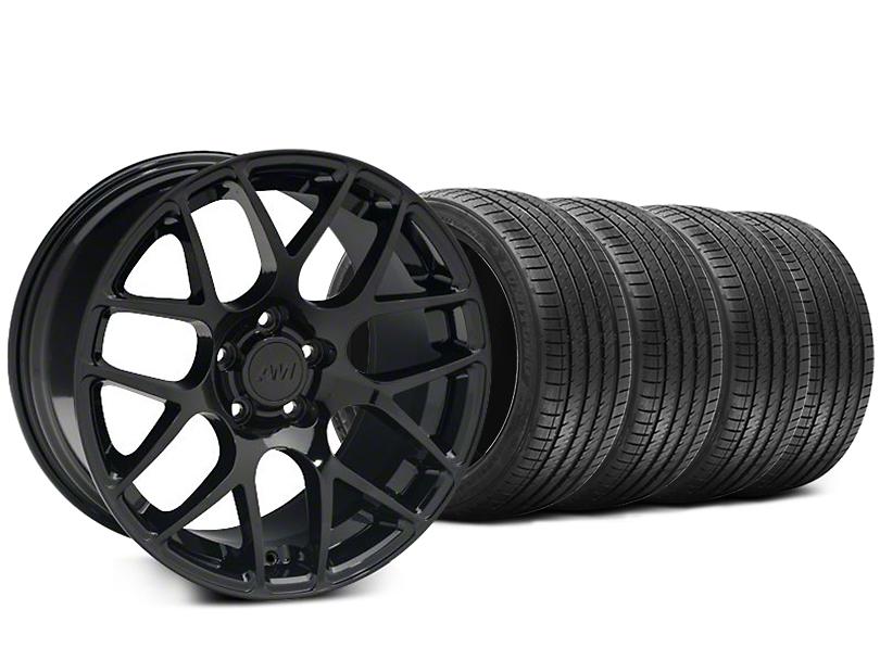AMR Black Wheel & Sumitomo Tire Kit - 18x8 (05-14 All)