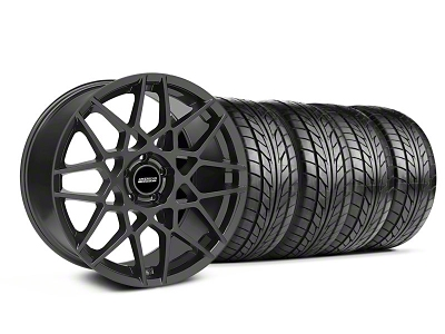 2013 GT500 Style Charcoal Wheel & NITTO Tire Kit - 18x9 (05-14 All)