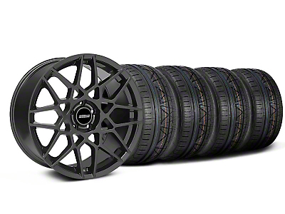 2013 GT500 Charcoal Wheel & NITTO INVO Tire Kit - 18x9 (05-14 All)