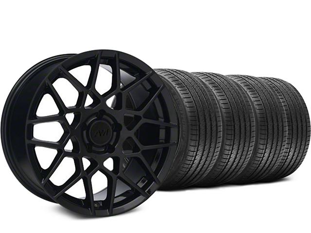 2013 GT500 Style Gloss Black Wheel & Sumitomo Tire Kit - 18x9 (05-14 All)