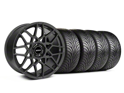 2013 GT500 Style Charcoal Wheel & Sumitomo Tire Kit - 18x9 (05-14 All)