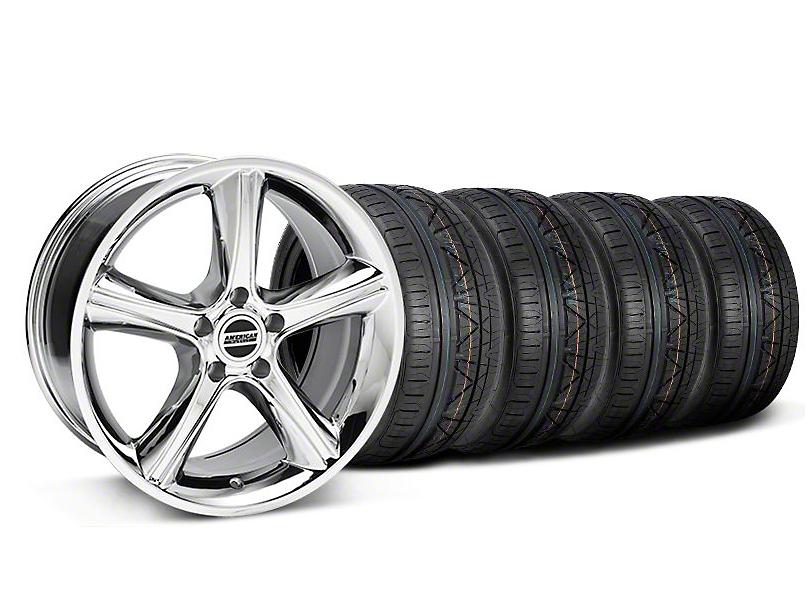 2010 GT Premium Style Chrome Wheel & NITTO INVO Tire Kit - 18x9 (05-14)