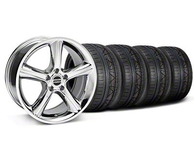 2010 GT Premium Style Chrome Wheel & NITTO INVO Tire Kit - 18x9 (05-14)