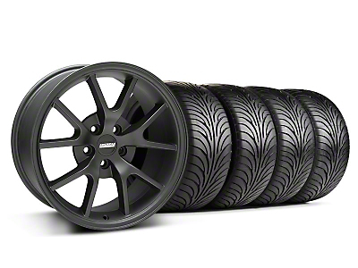 FR500 Matte Black Wheel & Sumitomo Tire Kit - 18x9 (05-14 All)