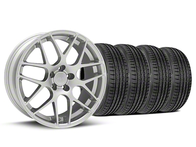 AMR Silver Wheel & Sumitomo Tire Kit - 19x8.5 (05-14 All)