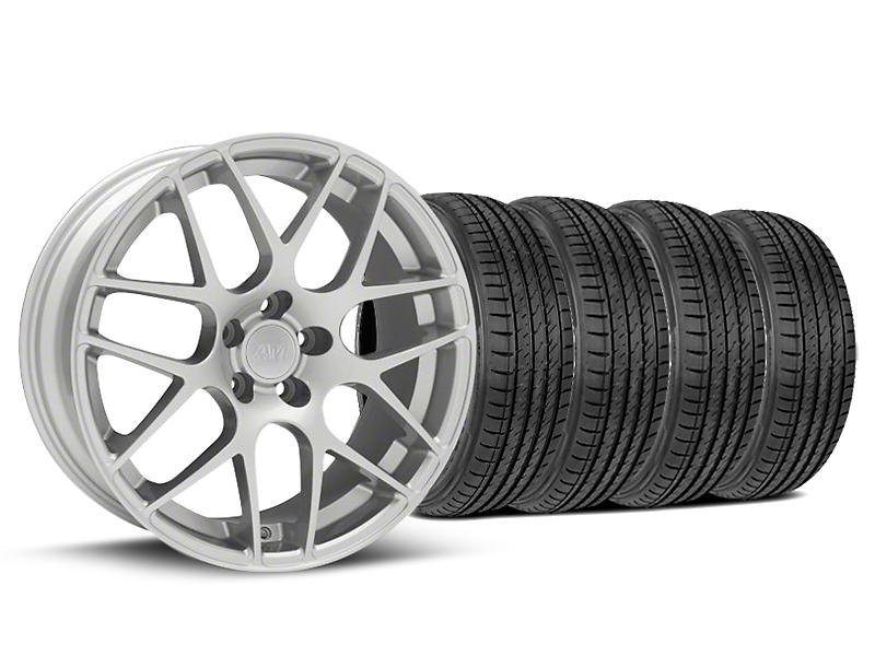 AMR Silver Wheel & Sumitomo Tire Kit - 19x8.5 (05-14 All)