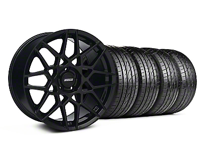 2013 GT500 Gloss Black Wheel & Sumitomo Tire Kit - 19x8.5 (05-14 GT, V6)