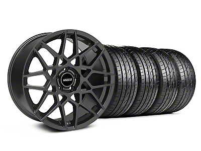 2013 GT500 Charcoal Wheel & Sumitomo Tire Kit - 19x8.5 (05-14 GT, V6)