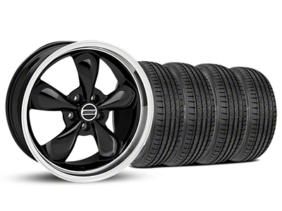 Bullitt Black Wheel & Sumitomo Tire Kit - 19x8.5 (05-14 GT, V6)