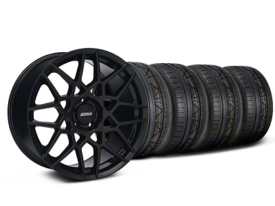 2013 GT500 Style Gloss Black Wheel & NITTO INVO Tire Kit - 19x8.5 (05-14 GT, V6)
