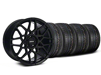 2013 GT500 Gloss Black Wheel & NITTO INVO Tire Kit - 19x8.5 (05-14 GT, V6)
