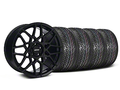 Gloss Black 2013 GT500 Style Wheel & General Tire Kit - 19x8.5 (05-14 GT, V6)