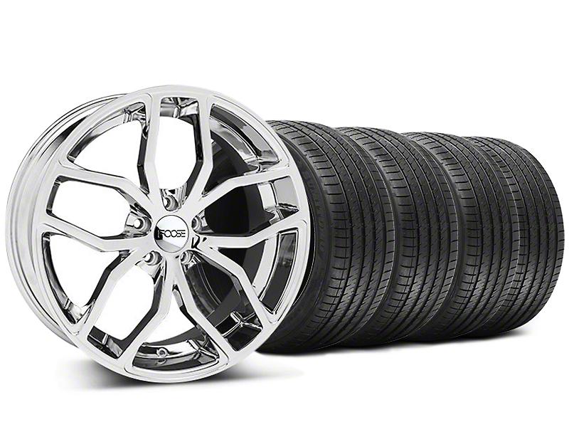 Foose Outcast Chrome Wheel & Sumitomo Tire Kit - 20x8.5 (05-14 All)