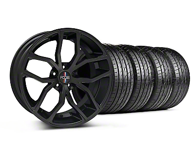 Matte Black Foose Outcast Wheel & Sumitomo Tire Kit - 20x8.5 (05-14)