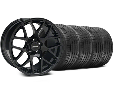 AMR Black Wheel & Sumitomo Tire Kit - 20x8.5 (05-14 All)