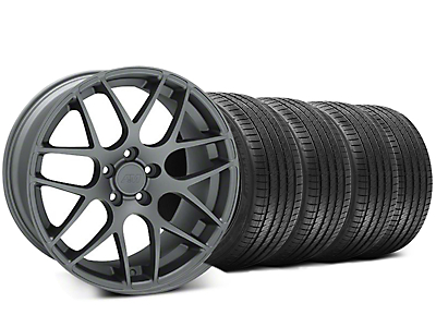 Charcoal AMR Wheel & Sumitomo Tire Kit - 20x8.5 (05-14 All)