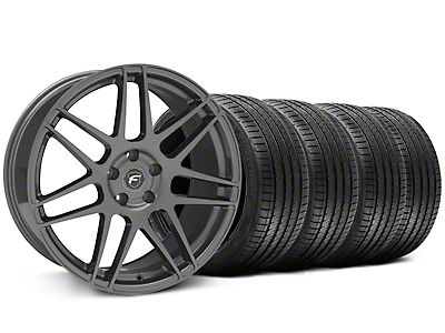 Forgestar F14 Monoblock Gunmetal Wheel & Sumitomo Tire Kit - 20x9 (05-14 All)