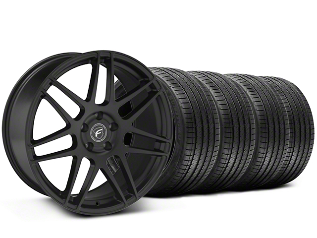 Forgestar F14 Monoblock Matte Black Wheel & Sumitomo Tire Kit - 20x9 (05-14 All)